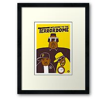 Public Enemy - Welcome To The Terrordome Framed Print