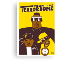 Public Enemy - Welcome To The Terrordome Canvas Print