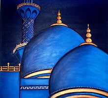 Sheikh Zayed Grand Mosque by pilanehimself