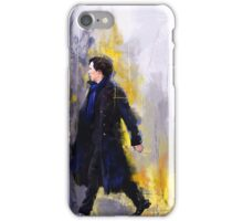Walking Sherlock iPhone Case/Skin