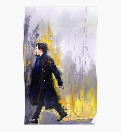 Walking Sherlock Poster