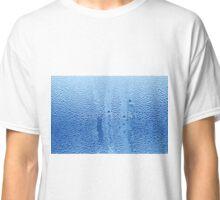 water on window glass Classic T-Shirt