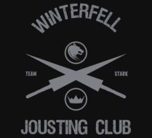 Team Stark Jousting Game of Thrones by chadkins