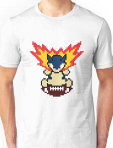 Typhlosion on a football Unisex T-Shirt