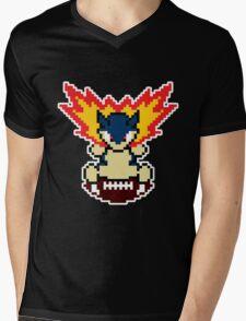 Typhlosion on a football Mens V-Neck T-Shirt