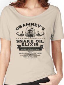 Obamney's Snake Oil Elixir Women's Relaxed Fit T-Shirt