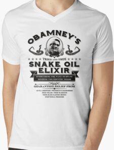 Obamney's Snake Oil Elixir Mens V-Neck T-Shirt