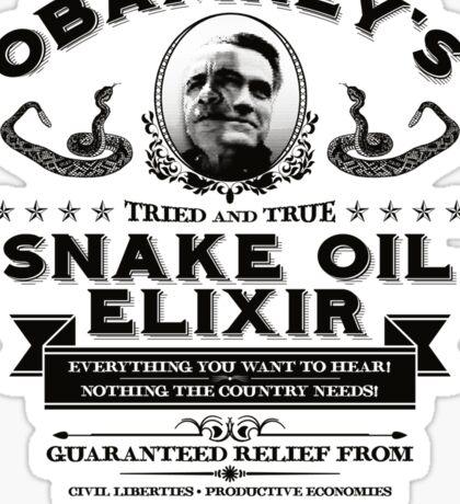 Obamney's Snake Oil Elixir Sticker