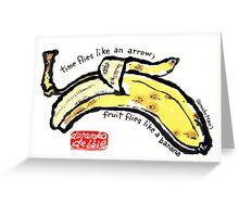 Like a Banana Greeting Card