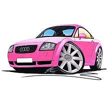 Audi TT Pink Photographic Print