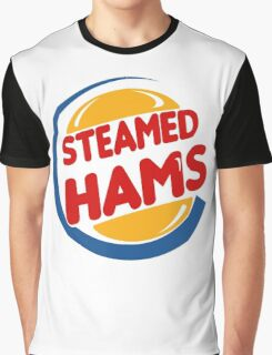 Steamed Hams Funny Graphic T-Shirt