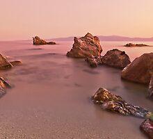 Private rocky beach by George Mast