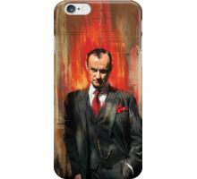 Mycroft Holmes iPhone Case/Skin