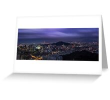 Seoul Panorama Greeting Card