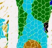 Colored Web Sticker