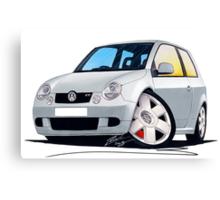VW Lupo GTi Silver Canvas Print