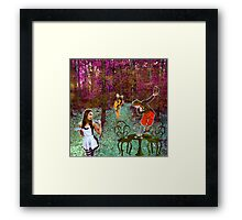 A Mad Hatter's Tea Party! Framed Print