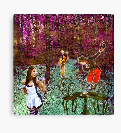 A Mad Hatter's Tea Party! Canvas Print