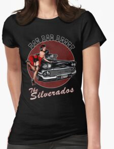 Hot Rod Betty - The Silverados  Womens Fitted T-Shirt