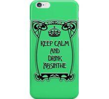 Keep Calm, Art Nouveau style iPhone Case/Skin