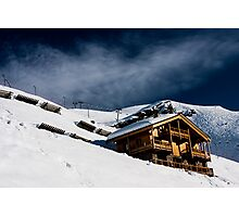 Ski Chalet  Photographic Print