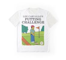 Lee Carvallo's Putting Challenge - Funny Graphic T-Shirt