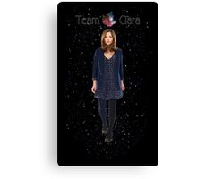 Dr who-Clara Oswald  Canvas Print