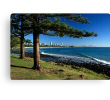 Burleigh At Its Best Canvas Print