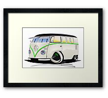 VW Splitty (11 Window) RB Framed Print