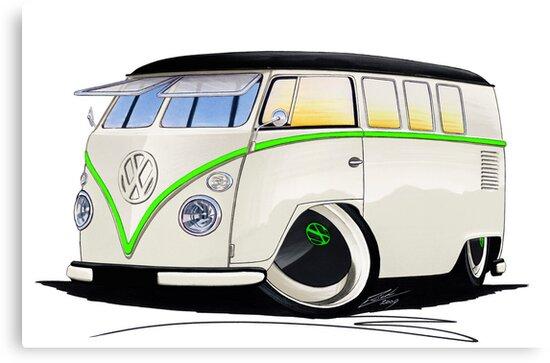 VW Splitty (11 Window) RB by Richard Yeomans