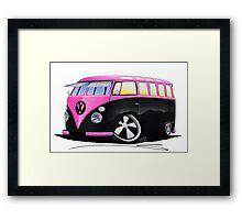 VW Splitty (23 Window) C Framed Print