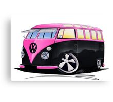 VW Splitty (23 Window) C Canvas Print