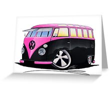 VW Splitty (23 Window) C Greeting Card