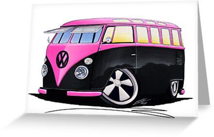 VW Splitty (23 Window) C by Richard Yeomans