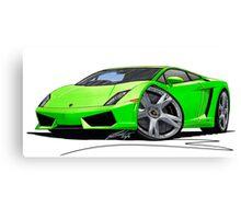 Lamborghini LP560/4 Lime Canvas Print
