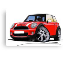 MINI [BMW] (Mk2) Cooper S Red Canvas Print