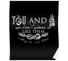 You and I - Typography Poster