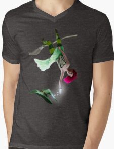 Clumsy Witch 02 Mens V-Neck T-Shirt