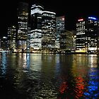 Brisbane by night by PhotosByG