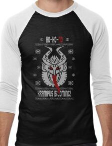 Better Be Nice...The Krampus is Coming!! Men's Baseball ¾ T-Shirt