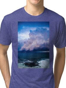 Cotton candy clouds Part II Tri-blend T-Shirt