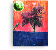 On another world Canvas Print