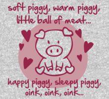 Soft piggy, warm piggy, little ball of meat... Kids Clothes