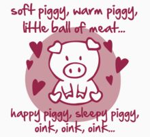 Soft piggy, warm piggy, little ball of meat... Kids Clothes