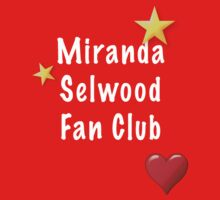 Miranda Selwood Fan Club - White Baby Tee