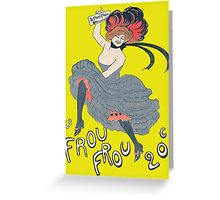 Le Frou Frou Greeting Card