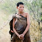 Ghanzi Bushwoman, Botswana, Africa by Amber  Williams