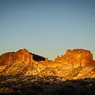 Rainbow Valley sunset by Rosie Appleton