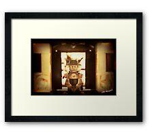 Pharaoh's Nemes Framed Print