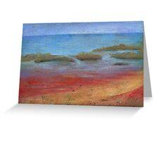 Town Beach, Broome, Western Australia Greeting Card